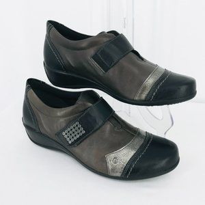 REMONTE LEATHER SHOES SZ 8 (EURO 39)